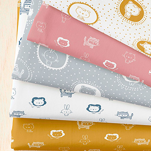 Tecidos Estampados Infantis