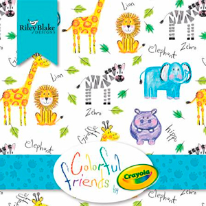Colorful Friends & Crayola Stripes Agosto 2021